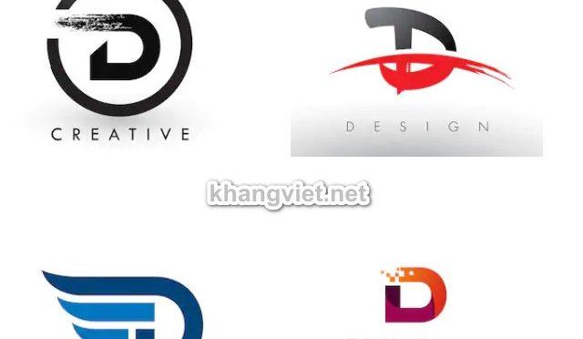 100 mẫu logo chữ D