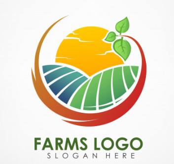 Logo biểu tượng mặt trời