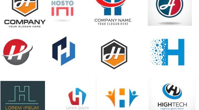 55 mẫu logo chữ h đẹp